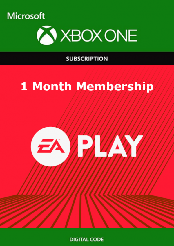1 Month EA Play Xbox One - Download Code