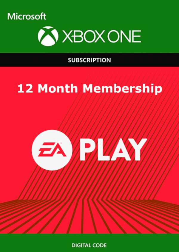 12 Month EA Play Xbox One - Download Code