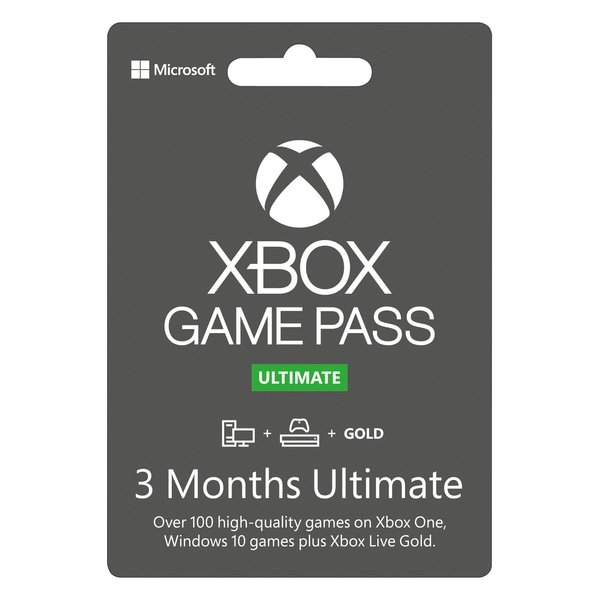 3 Month Game Pass Ultimate With Xbox Live – Download Code