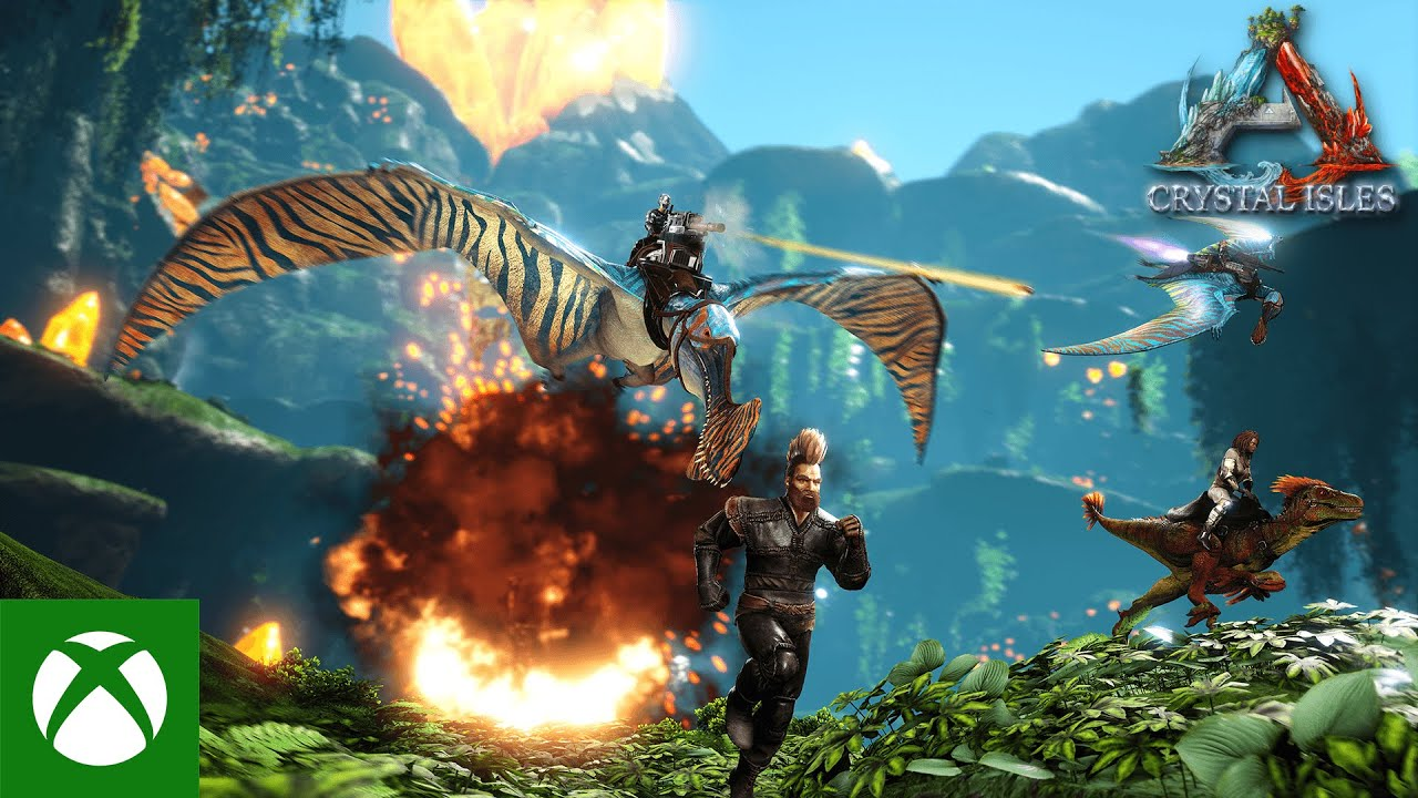 ARK: Crystal Isles - Available Now