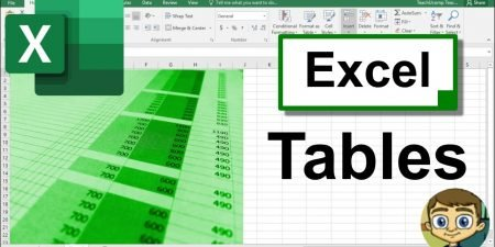 All About Excel Tables