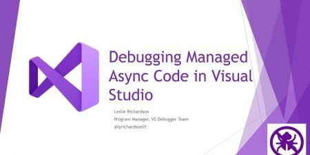 Debugging Managed Async Code in Visual Studio 2019