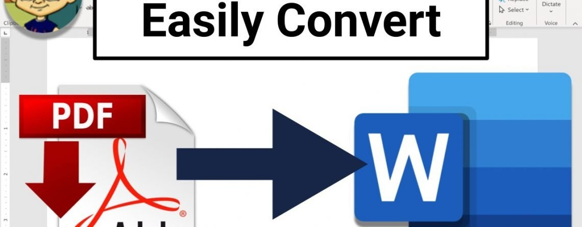Easily Convert PDFs to Microsoft Word Format