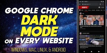Google Chrome Dark Mode Tutorial (Windows/Android/Mac/Linux)