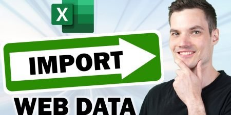 How to Import Data from the Web in Excel