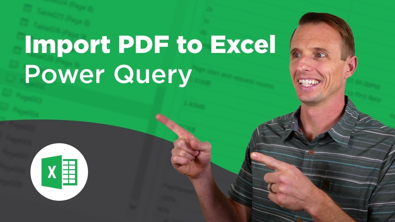 How to Import PDF Files into Excel with Power Query