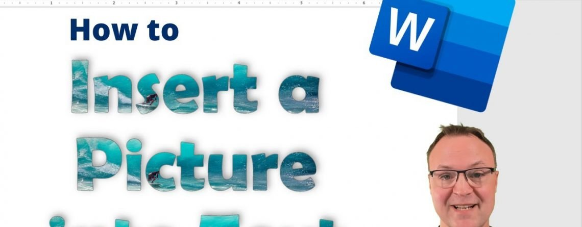 How to Insert an Image Inside of Text in Microsoft Word
