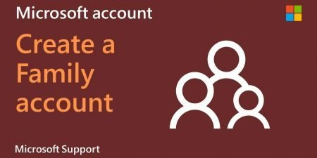 How to add a Microsoft Family account in Windows 10