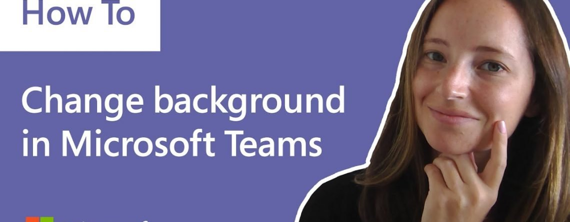 How to change your background in Microsoft Teams