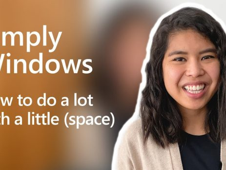 How to do a lot with a little space | Simply Windows