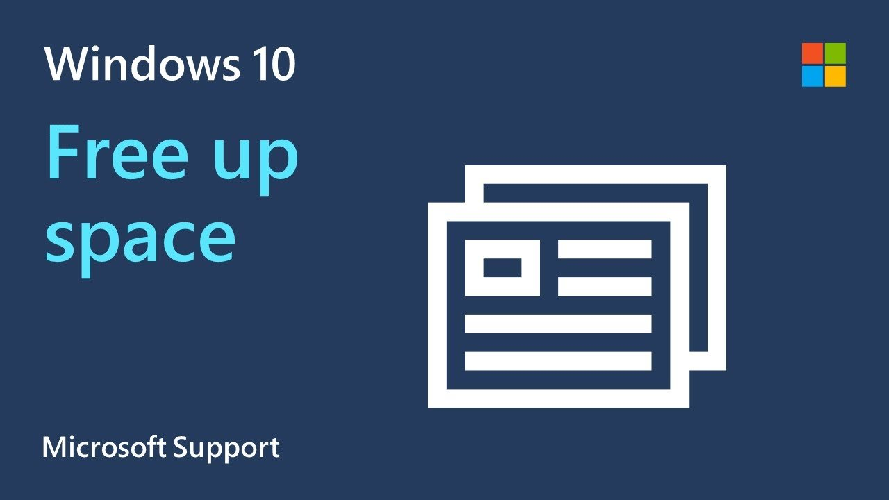 How to free up drive space in Windows 10