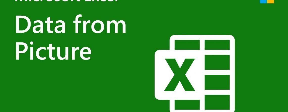 How to import data from a picture into Excel for Mac