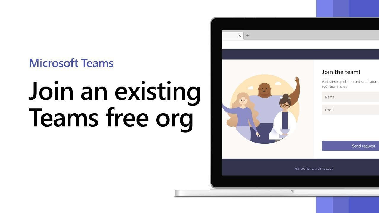 How to join an existing Microsoft Teams free org