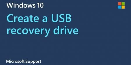 How to make a USB recovery drive in Windows 10