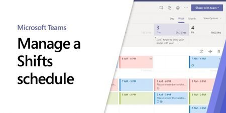 How to manage a Shifts schedule in Microsoft Teams