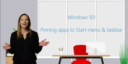 How to pin apps to Start menu and taskbar