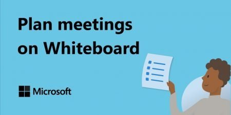 How to run a planning meeting with Microsoft Whiteboard