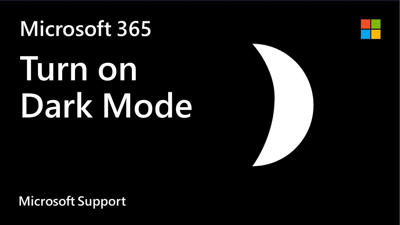 How to turn on Dark Mode for Microsoft Office apps