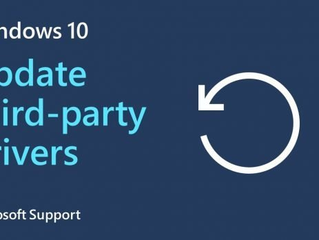 How to update third-party drivers