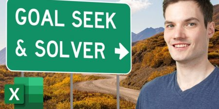 How to use Goal Seek & Solver in Microsoft Excel