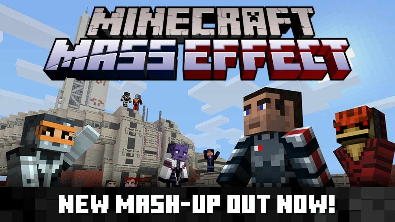 Minecraft Mass Effect Mash-Up