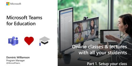 Online classes and lectures with all your students. Part 1 class setup