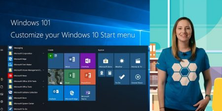Organize your Start menu in Windows 10