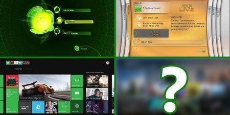 The Evolution of Xbox Dashboard (Xbox - Xbox Series X)