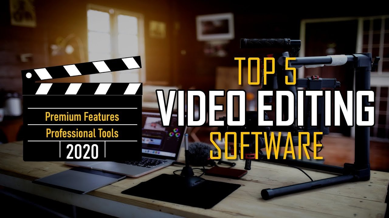 Top 5 BEST VIDEO EDITING Software to Use in 2020