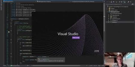 Use Presentation Mode in Visual Studio