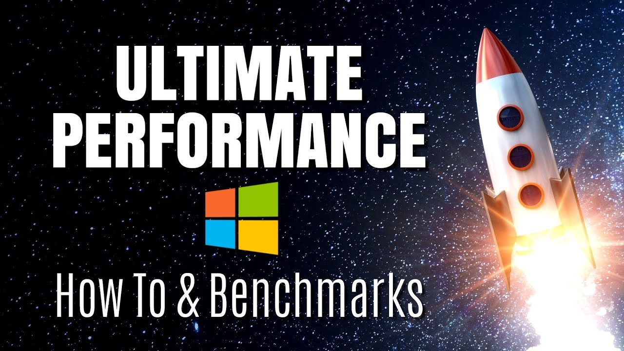 Windows 10 Ultimate Performance: How To & Benchmarks