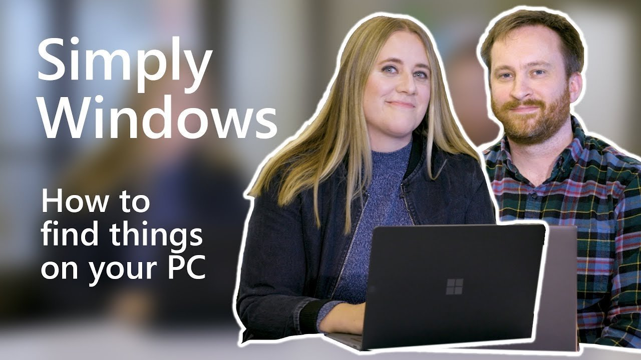 Windows - Three ways to quickly find things on your PC