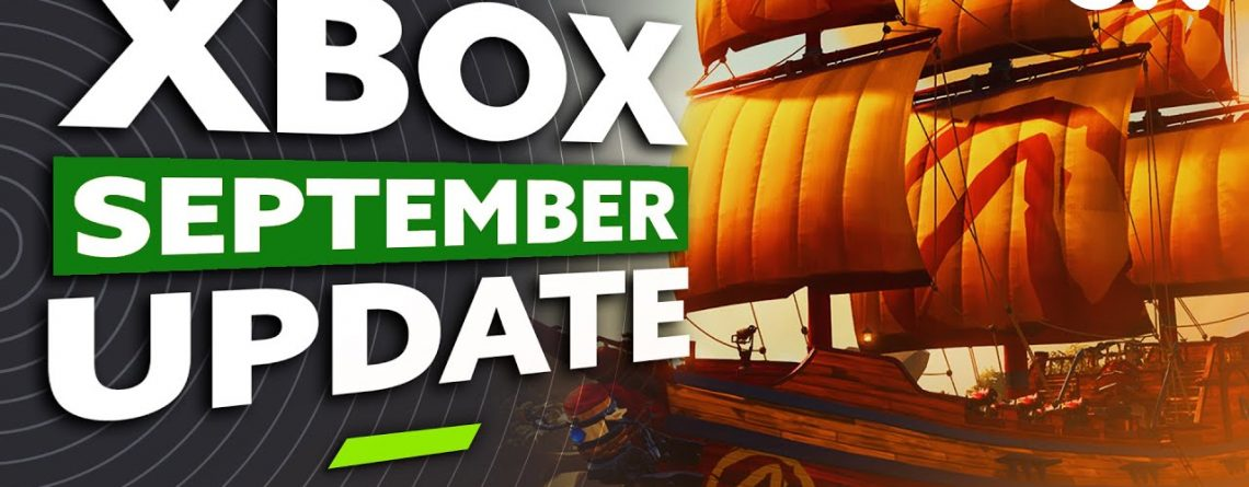 Xbox Update September 2021 | NEW Xbox Stereo Headset, Sonic Colours Ultimate, Sea of Thieves + MORE